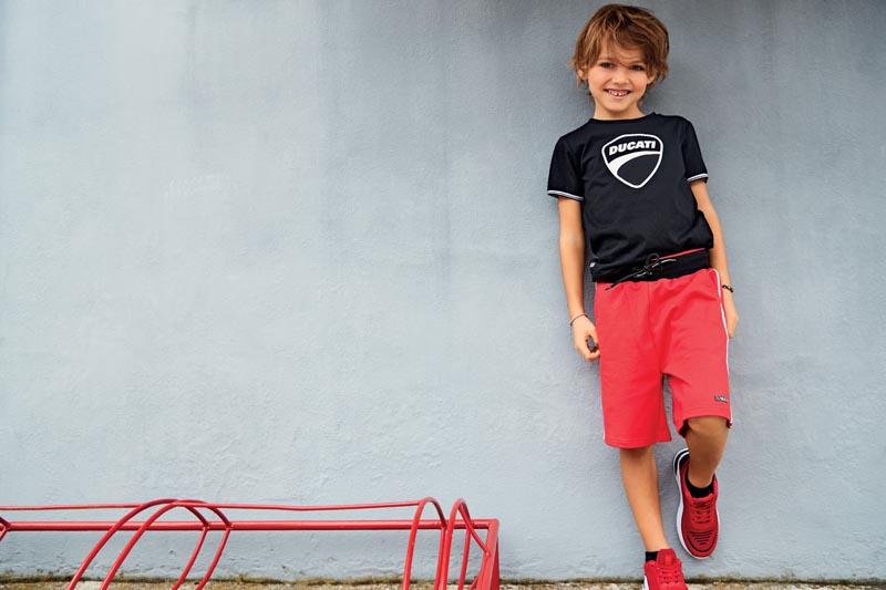 Детски къс панталон Sarabanda от серията на DUCATI 02395